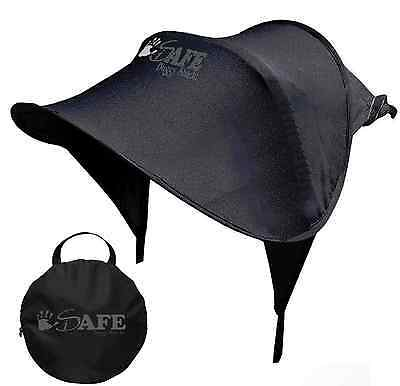 Sun Canopy Ray Shade Black UPF50+ for Buggy/Pushchair/Pram/Stroller