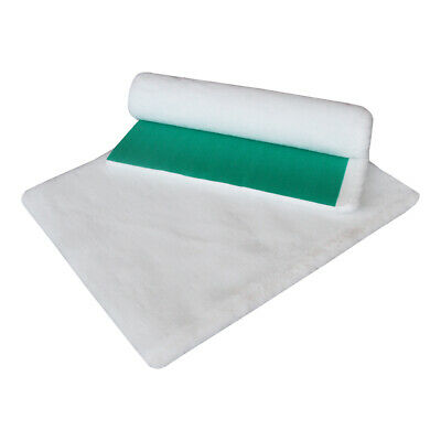 Vetfleece® Greenback Veterinary Dog Cat Puppy Vet Bed Fleece Whelping White