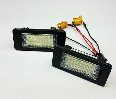LED NUMBER PLATE LICENSE PANEL MODULE LAMP fit VW GOLF JETTA PASSAT SHARAN