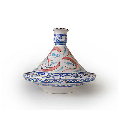 Authentic Traditional Handmade Blue Tagine