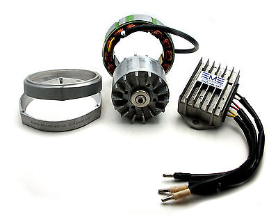 Moto Guzzi Alternator Upgrade 450 Watts Hi-Output EnDuraLast, EDL450-Altkit105