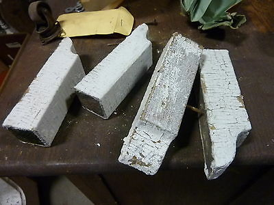 Victorian era DENTIL molding pieces SALVAGE porch elements 5 x 1 3/8 x 1 5/6""