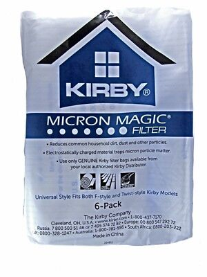 KIRBY Sentria Vacuum Cleaner Style F Hoover Bags G10 G10E G10SE New Twist Fit