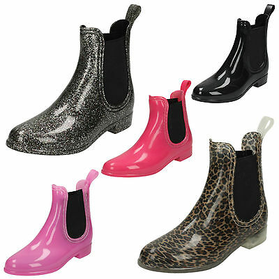 WHOLESALE Girls Ankle Wellington Boots / Sizes 10x2 / 16 Pairs / X1229