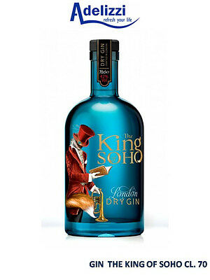 London Dry Premium GIN THE KING OF SOHO CL. 70 ALC. 42% Superiore All Hendrick's