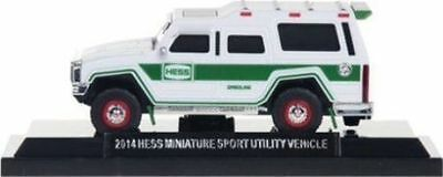 2014 HESS Miniature MINI TOY SUV SPORTS UTILITY TRUCK NEW