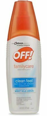 Off Family Care Clean Feel Insect Repellent