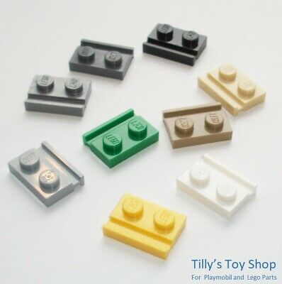 Pick a Colour Lego ID 63868 NEW 8 1x2 Mod Thin Plate With Clip on End