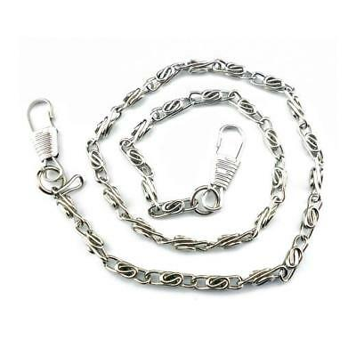 Buddly Crafts Purse Chain - 40cm Silver Tone BF5