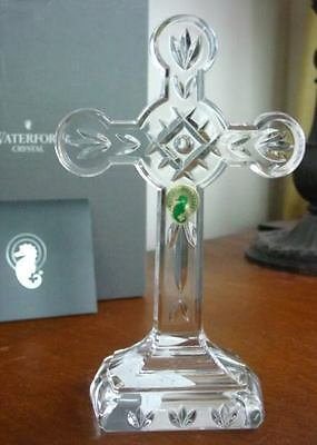 Waterford Crystal Large CHRISTIANITY CROSS, IRELAND - NEW / BOX!