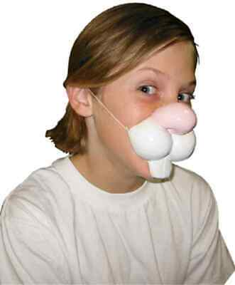 Bunny Rabbit Nose Easter Animal Fancy Dress Up Halloween Child Costume Accessory