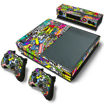 HOOLIGAN COOL X106 DECAL SKIN PROTECTIVE STICKER for XBox ONE CONSOLE CONTROLLER