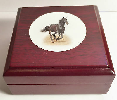 New 2014 Year Of The Horse 1/10th oz HGE 999 Gold Aust Coin In Display Box