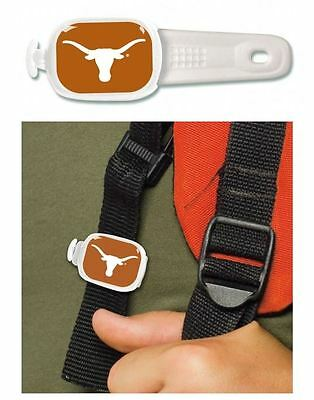 "Texas Longhorns - ""stwrap""- Luggage Tag, Backpack Tag, Bag Tag, Everything Tag"