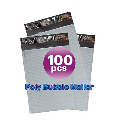 Yens® 100 #3 Poly Bubble Padded Envelopes Mailers 8.5 X 14.5