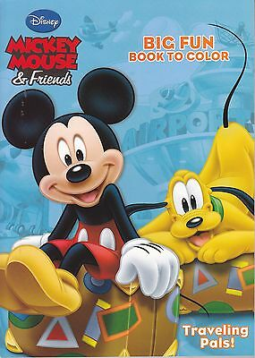 Disney Mickey Mouse Coloring Book Traveling Pals