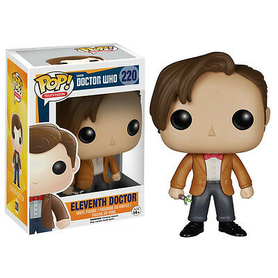 Doctor Who POP Eleventh Doctor Vinyl Figure NEW Toys Funko 11th Dr Who