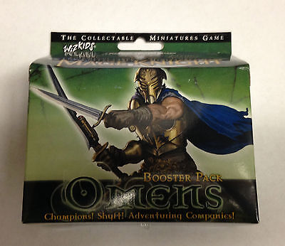 Mage Knight Omens Booster Pack Brand New!