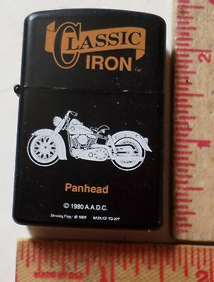 Vintage Harley Panhead lighter classic collectible old HD motorcycle memorabilia