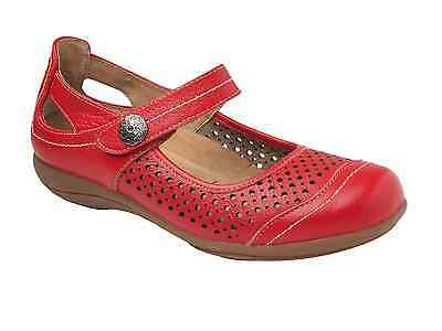 Coeo+Sam Disco Leather Flats and Orthotic Friendly  Summer Shoes