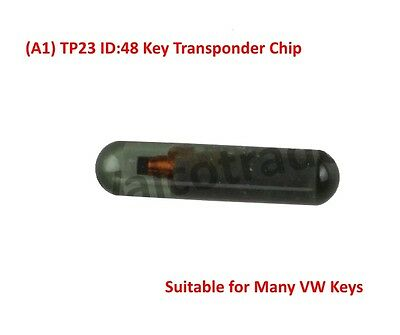 ID48 Chiave Chip Transponder per VW CAN (A1) TP23. Nuovo ID:48 Ciondolo chip