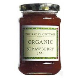 Thursday Cottage Organic Strawberry Jam 340g