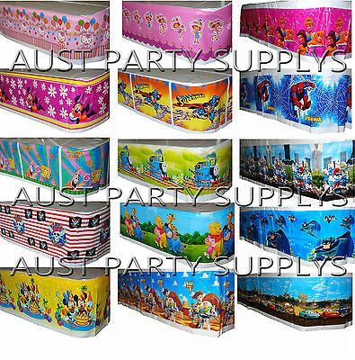 Themed Tablecloth /table Cover Birthday Party Supplies Tableware Serveware