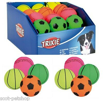Neon Dog Toy Balls  6cm | Foam Rubber | Floatable | Choice Of Quantity