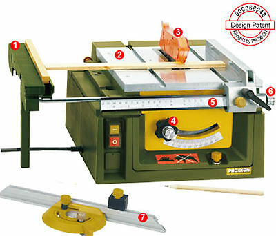 Proxxon Table FET saw wood working 27070 / Direct from RDGTools