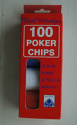 David Westenedge 100 Poker Chips