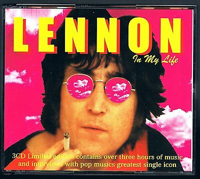 John Lennon In My Life Box 3 Cd F.c. Come Nuovo!!!