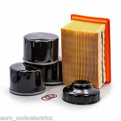 Maintenance Kit for BMW RnineT / 3 Oil Filters, Crush Washers 1 Air Filter