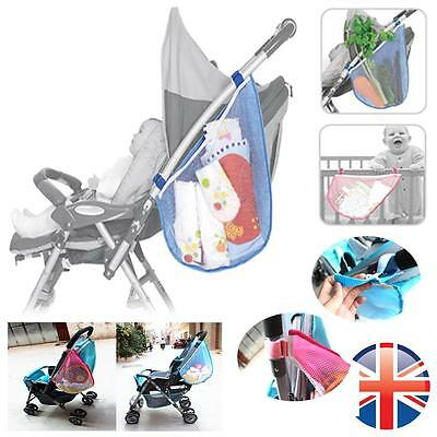 *UK Seller* Universal Net Bag for Buggy Stroller Pushchair Pram Basket Shopping