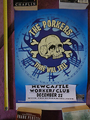 The Porkers_RARE PROMO POSTER_ships from AUSTRALIA!_15a