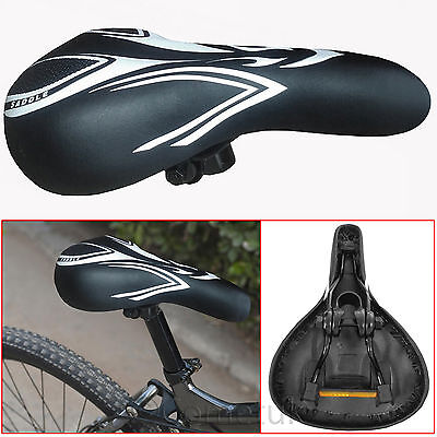 Bike Bicycle Cycle MTB Saddle Mountain Road Comfort Sporty Soft Plus Padded Seat