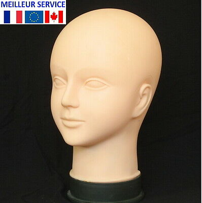 Mannequin Tete Artificielle Bodyart Maquillage Pratique Massage Apprentisage
