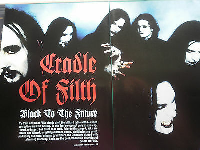 Cradle Of Filth # 4 Page Article #
