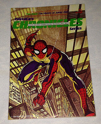 Fantaco's Chronicles #5  - 1982 - The History of  SPIDER-MAN Fine