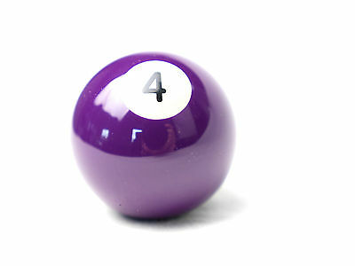 "Number 4 Kelly Ball - Two inch - 2"" - Replacement - Pool Snooker Billiards"