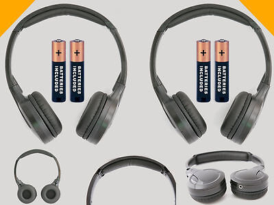 2 Wireless DVD Headsets for Honda Odyssey : New Headphones - Made for Kids!