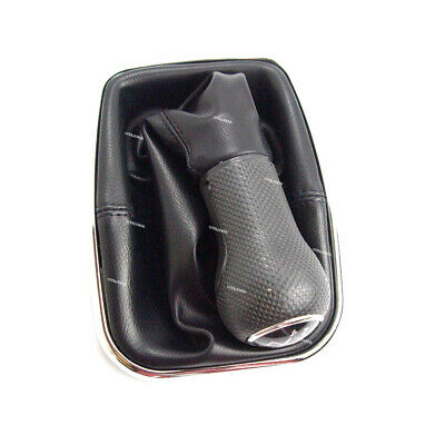 For VW Golf Bora Jetta MK4 New Beetle SEAT 5-Speed Gear Shift Leather Knob Boot