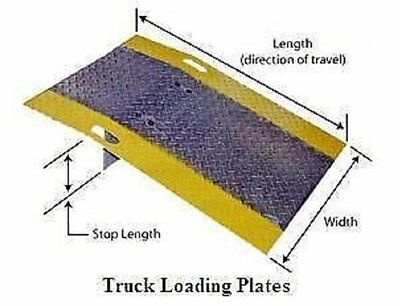 """BLUFF Dock Plates - HEAVY-DUTY 1/2"""" THICK PLATE (ZN-2250)"""