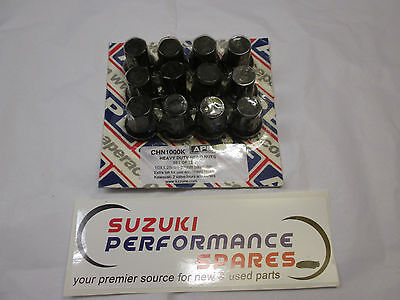 Suzuki APE GSXR1100 Cylinder head Nuts. Super heavy Duty!
