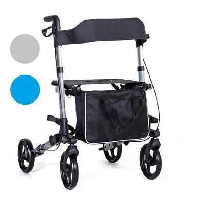 EC X Cruise walker folding lightweight 4 wheel rollator walking frame
