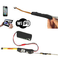 1080P HD WIFI Remote Monitoring Hidden SPY Camera Module iPhone Android IP P2P