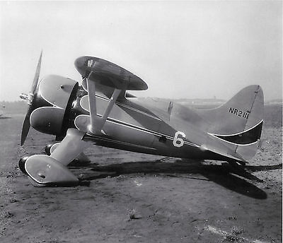 "Black & White 5X7 Air Racing Photograph  - Vintage ""hall #6 Nr2 111 Bulldog""!!!!"