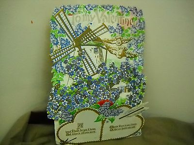 Vintage 1930's Made in Germany Valentine Card not written on