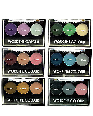 Collection 2000 Work The Colour Trio Eyeshadow
