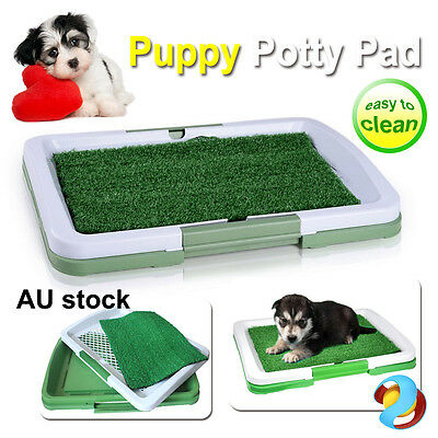 Puppy Potty Pad indoor Dog Pet Toilet Training Mat Tray Large Loo Portable New
