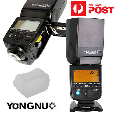 Yongnuo YN-568EX II TTL Master  1/8000s High Speed Flash Speedlite for Canon AU